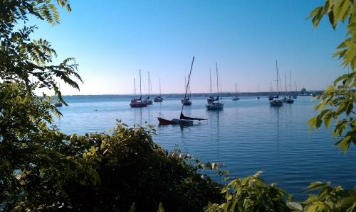 Global Marine Sailboat Grand Traverse Bay