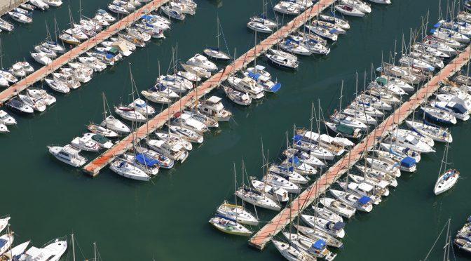 Marina - yachts, docks