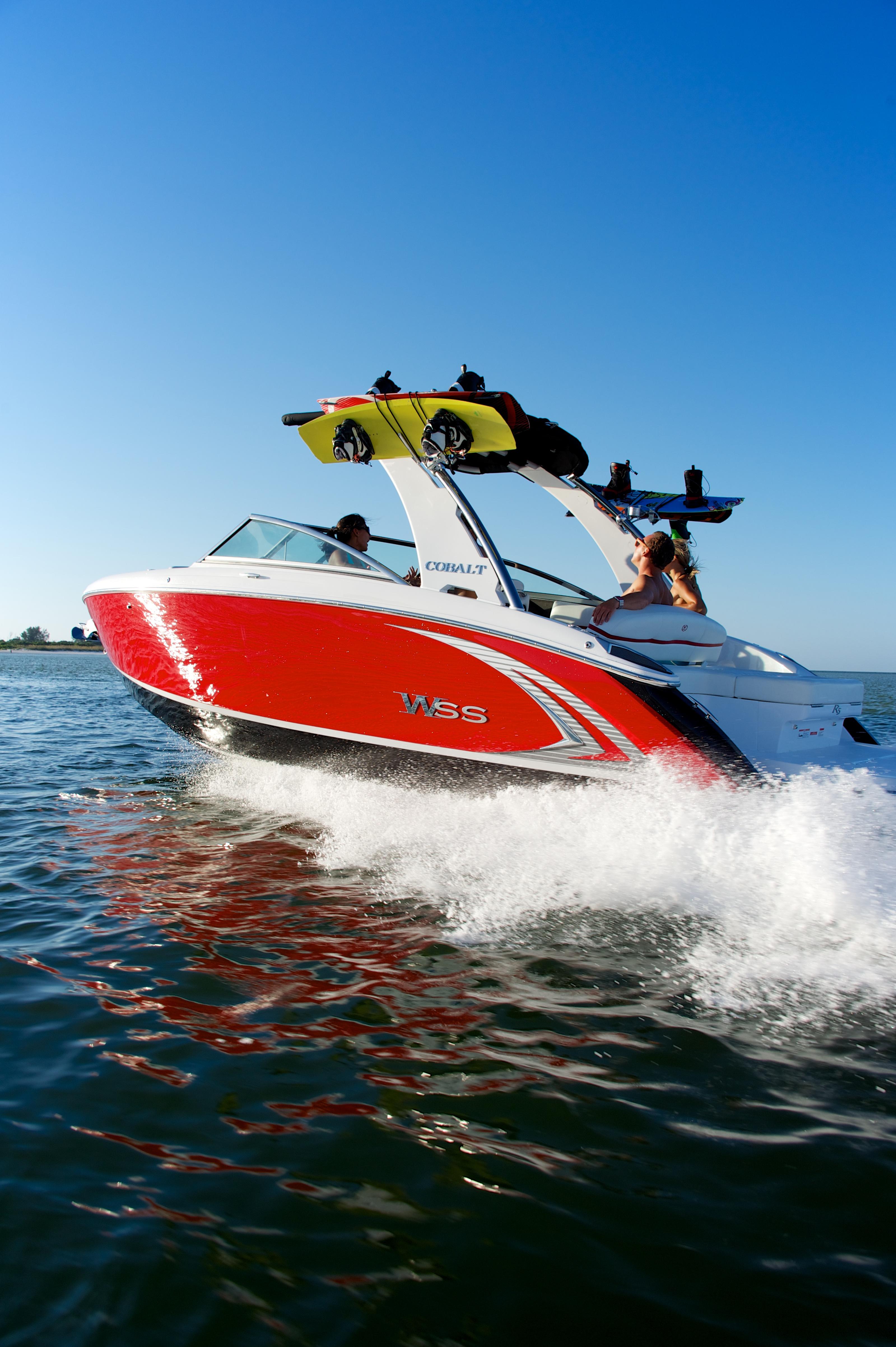 Cobalt Boat