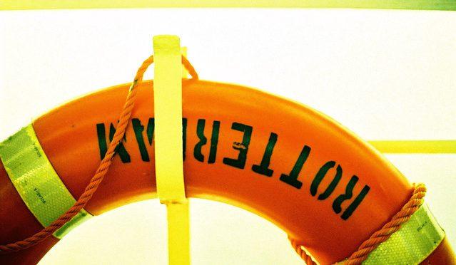 orange life saving ring