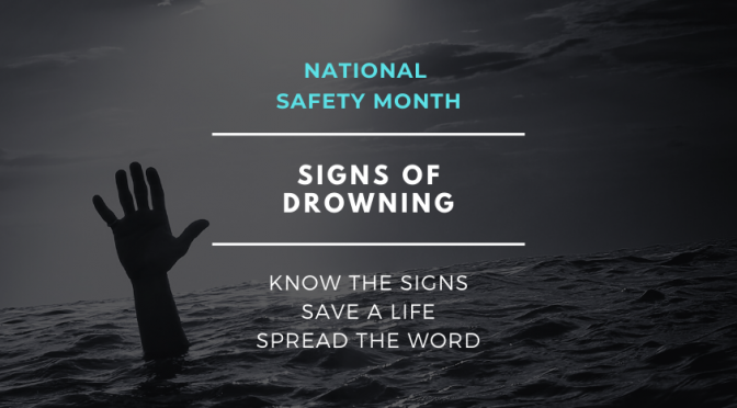 SIGNS OF DROWNING